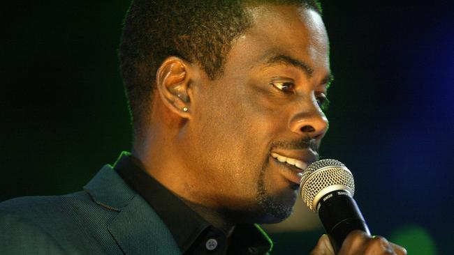 "Comedian Chris Rock once said ""Comedy is the blues for people who can't sing"". Picture: AP/Katina Revels"