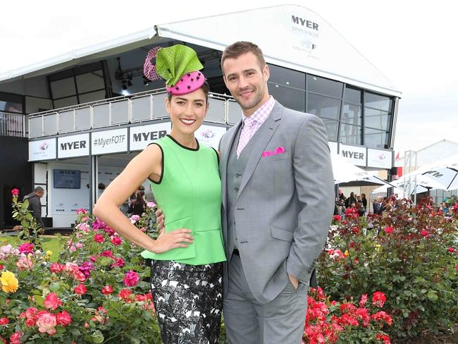 Much of Kris' work for Myer is done trackside, where he loves a flutter as much as the fashion.