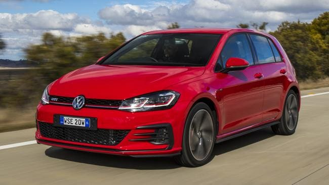 Squint and you'll miss it ... Golf GTI 7.5 gets new headlights, tail-lights and new front and rear bumpers. Picture: Supplied.
