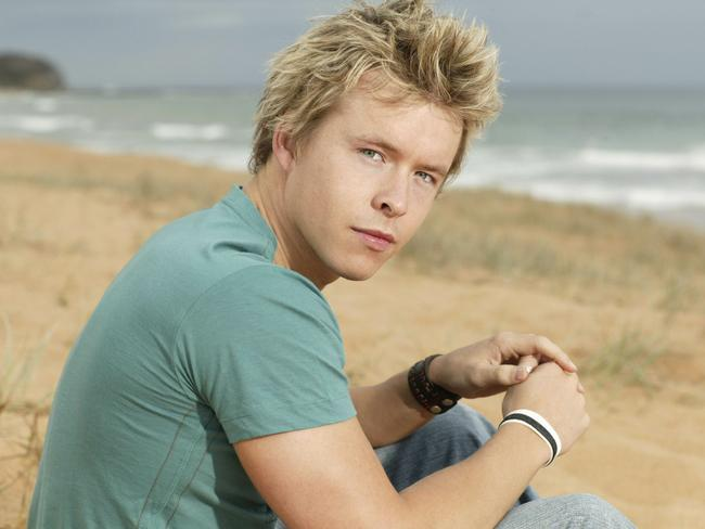 Lasance played Aden in  <i>Home and Away</i>. Picture: Supplied / Channel 7
