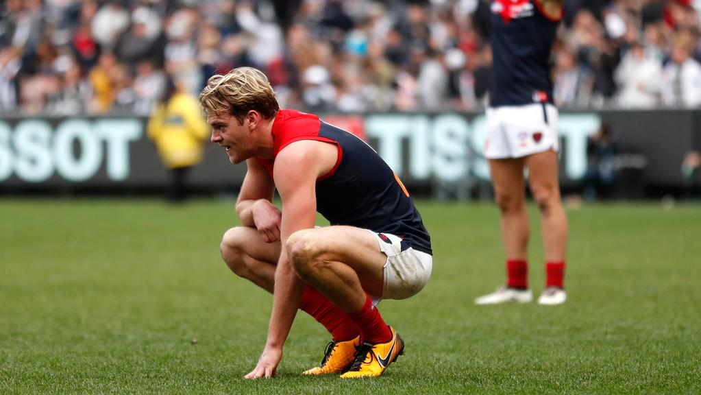 Garry Lyon says Melbourne should consider trading Jack Watts. Photo: Michael Willson/AFL Media/Getty Images