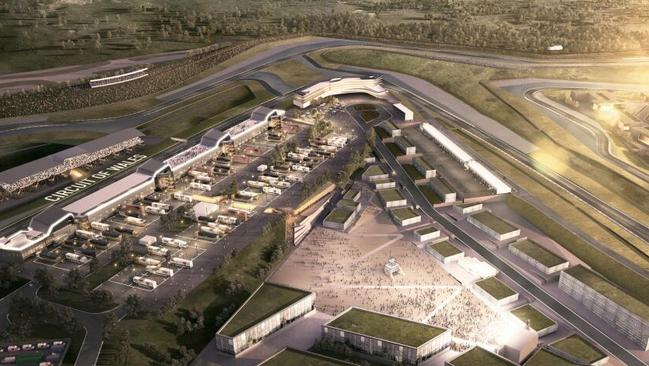 Image of the Circuit of Wales.