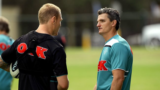 Luke Lewis and Ivan Cleary
