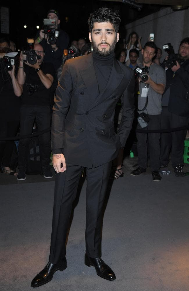 Zayn Malik has sported a number of different looks. Picture: AFP/Angela Weiss