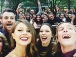 "Actress Isabelle Cornish snaps a selfie, ""#tvweeklogies Favs"" Picture: Instagram"