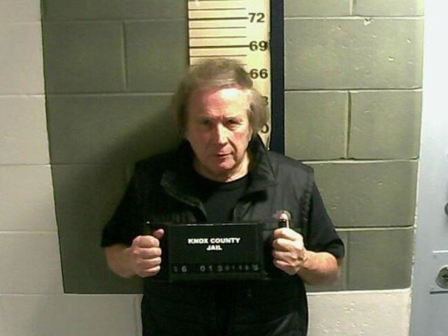 American Pie singer Don McLean arrested. Picture: Supplied