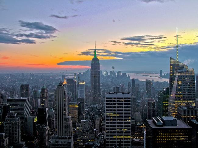 New York, New York! Picture: Derek Low