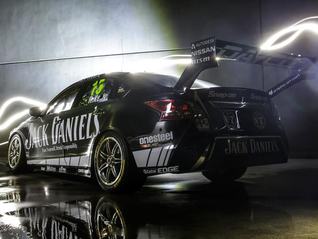 Rick Kelly Reveals New Jack Daniel S Racing Livery For