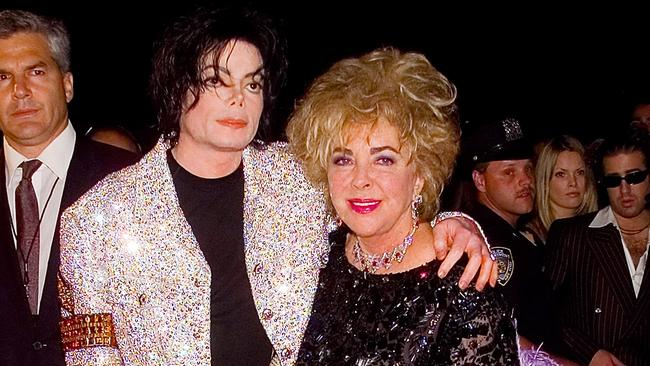 Michael Jackson and Elizabeth Taylor at the Michael Jackson: 30th Anniversary Celebration at Madison Square Garden on September 7, 2001.