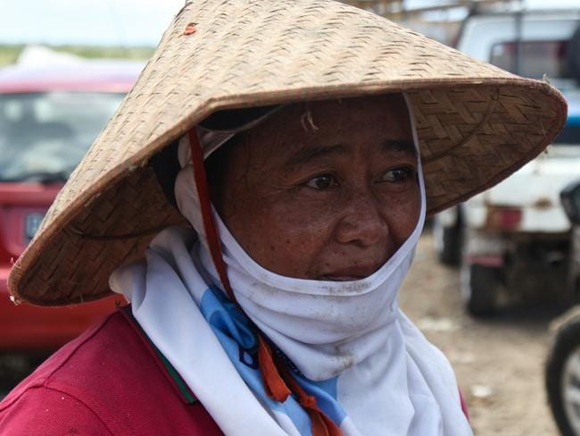 After 15 years working at Suwaung, Jero says she has regular health problems. Picture: Ian Lloyd Neubauer