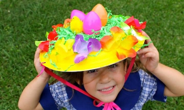 Easiest Easter bonnet idea