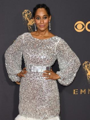 Tracee Ellis Ross, the daughter of Diana Ross, at the Emmy Awards. Picture: AFP