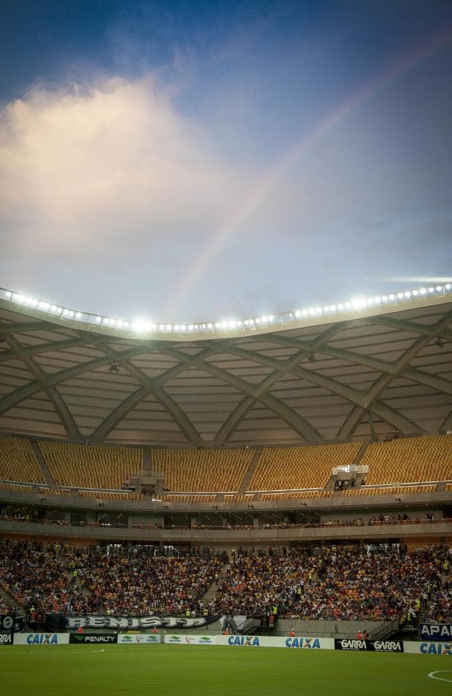 Look, a rainbow! Pic: Raphael Alves