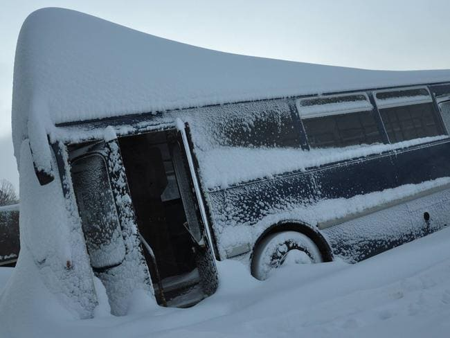 We'd bus a few snow starved Kiwis over to Oz if only we could dig the bus out. Pic: Perisher facebook.