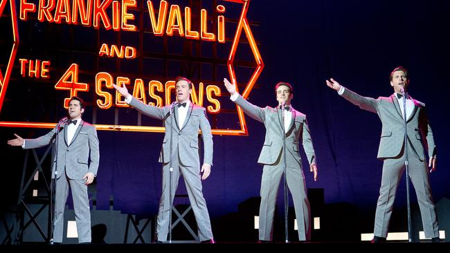John Lloyd Young took the film role of Frankie Valli after Clint Eastwood saw him on Broadway.