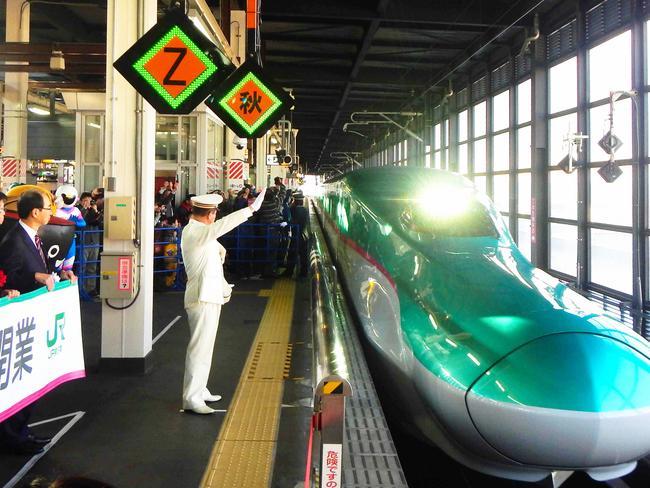 Japanese trains will be travelling at close to the speed of a Boeing 747.