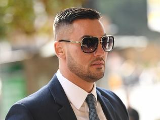 Salim Mehajer arrives to the Downing Centre Local Court in Sydney, Wednesday, August 16, 2017. (AAP Image/David Moir) NO ARCHIVING