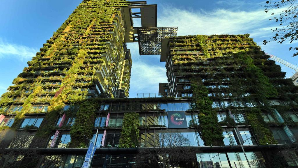Sydney's Central Park retail and residential development. Picture: William West/AFP