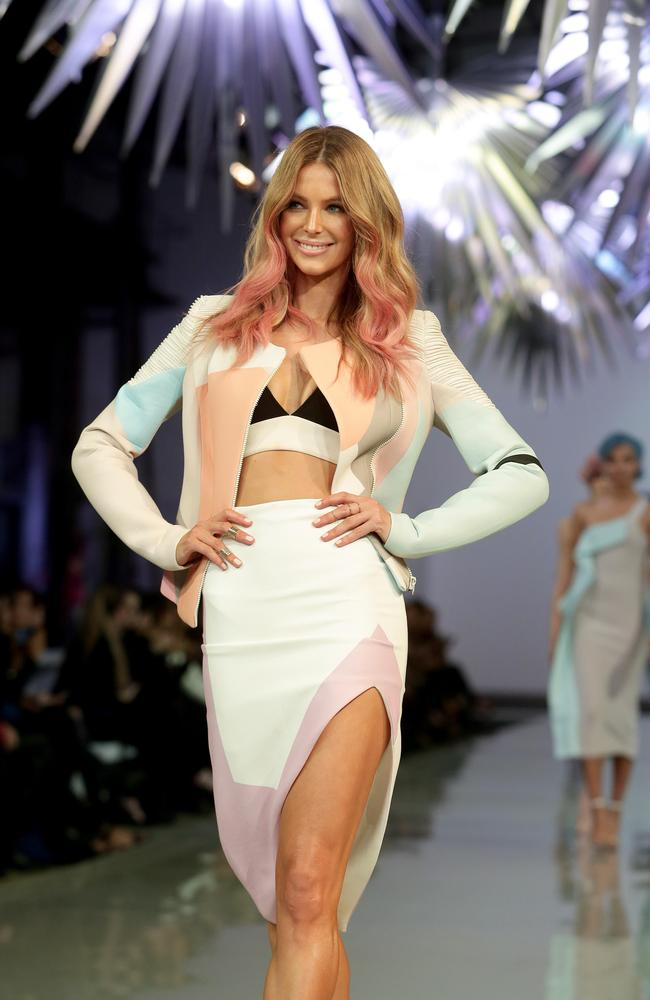 Candy hues and soft colours were a standout on the runway.