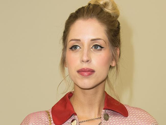 Addiction demons ... Peaches Geldof attends a Vivienne Westwood show during London Fashion in February. Picture: Getty