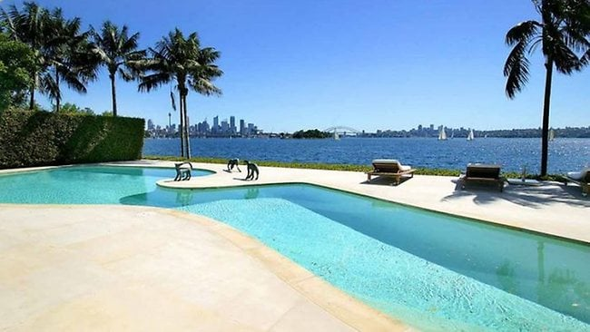 Ron Medich... has put his Sydney mansion in Point Piper up for sale.