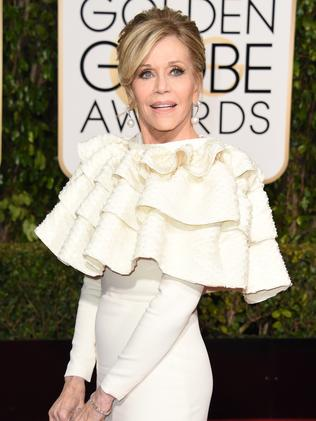 Jane Fonda. Picture: AFP