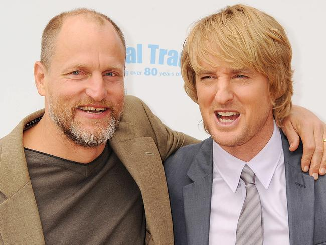 Woody Harrelson and Owen Wilson are best buds.