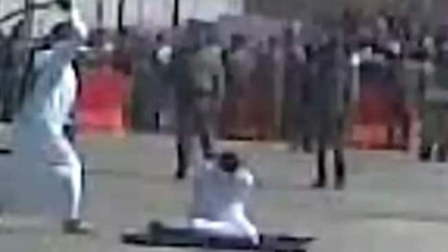 In Saudi Arabia death row inmates are beheaded and crucified. Picture: Amnesty International