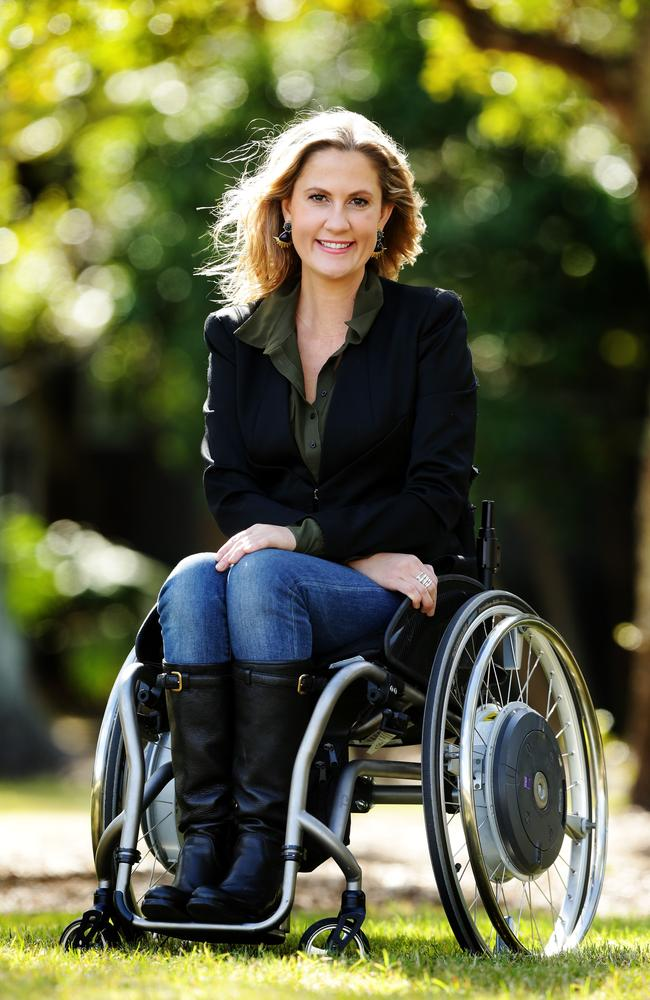 Nominee Karni Liddell is both a Paralympian and inspirational speaker. Picture: Mark Calleja