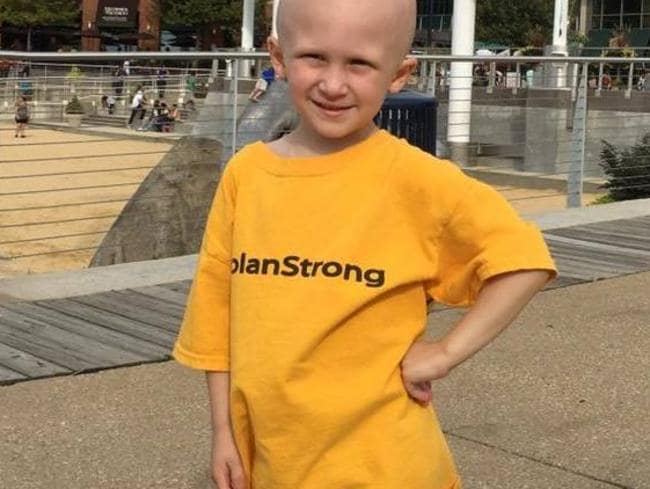 The four-year-old hero fought cancer for 18 months.