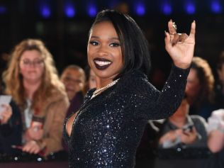 Jennifer Hudson arrives during The Voice UK 2018 launch on October 17, 2017 in England. Photo: Anthony Devlin/Getty Images.