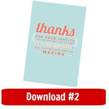 Gratitude goodie bags - Kidspot