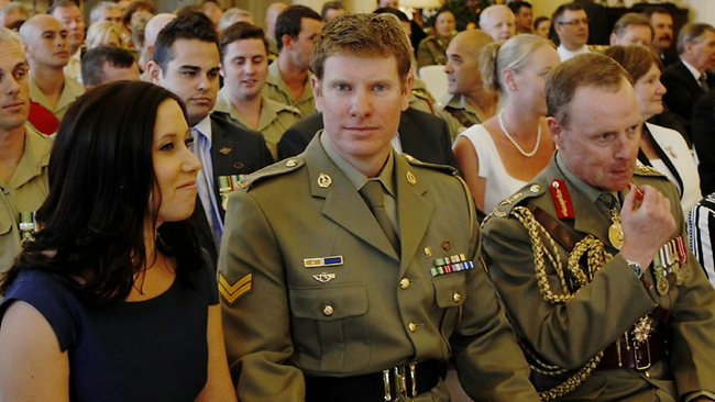 Royal Australian Regiment soldier Corporal Daniel Keighran has been awarded the Victoria Cross, Australia's highest military honour Picture: Kym Smith
