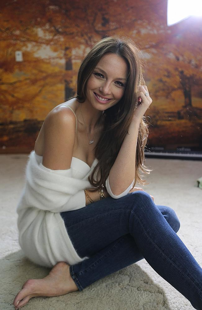 Ricki Lee Coulter during her video shoot for new single All We Need Is Love / Picture: Attila Szilvasi