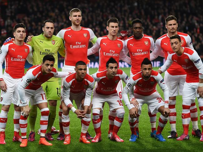 Image result for Arsenal  squad 2017