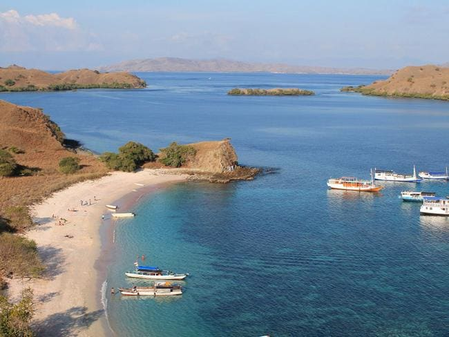 Komodo National Park. Picture: Jon Algie