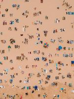 Aerial shot of a packed beach entered in Australia from Above by Daniel Chan. Picture: Daniel Chan and Skypixel
