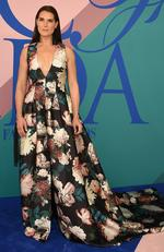 Brooke Shields attends the 2017 CFDA Fashion Awards at Hammerstein Ballroom on June 5, 2017 in New York City. Picture: Dimitrios Kambouris/Getty Images