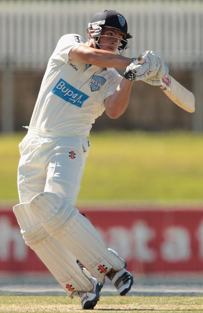 Steve O'Keefe has a useful first class batting average of 28 down the order.