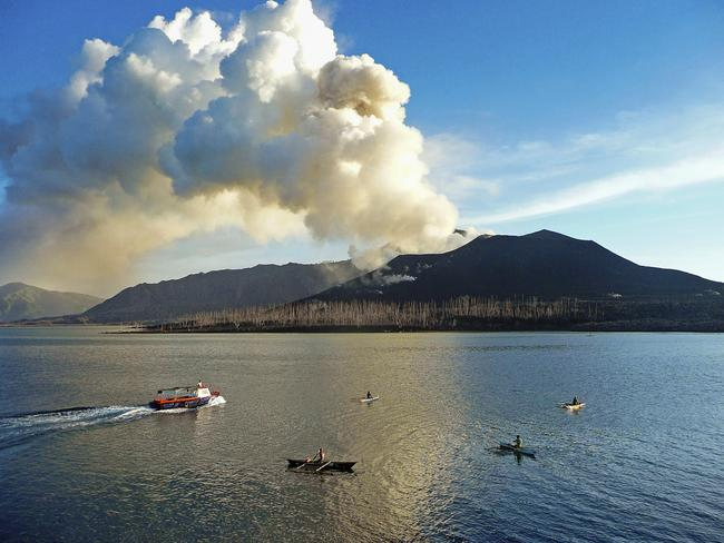 Tavurvur in Rabaul has been erupting on and off since 1994.
