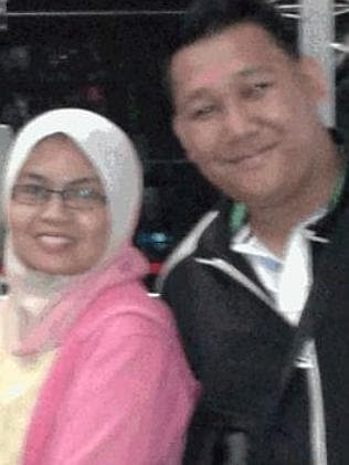 Missing ... Norliakmar Hamid (left) and Razahan Zamani.