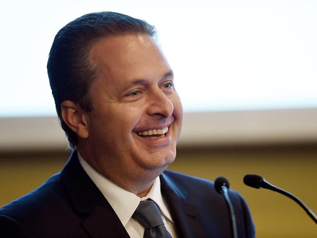 'Killed' ... Eduardo Campos reportedly died when his plane crashed in Sao Paulo.