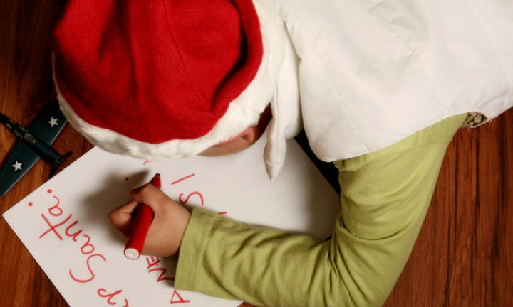 Kids can now write to Santa, track their letter and get a reply
