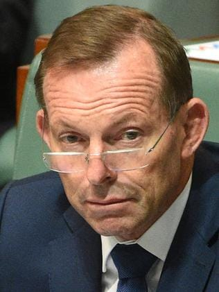 Google Assistant is not quite sure who former prime minister Tony Abbott is. Picture: AAP