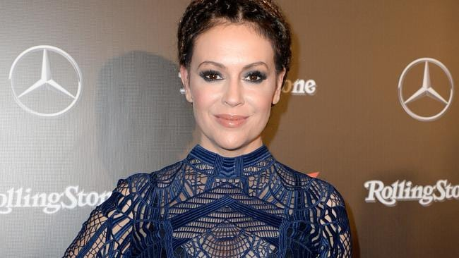 It seems that Alyssa Milano (pictured) and Shannen Doherty were not as 'charmed' by each other as you may have thought. Picture: Gustavo Caballero/Getty Images