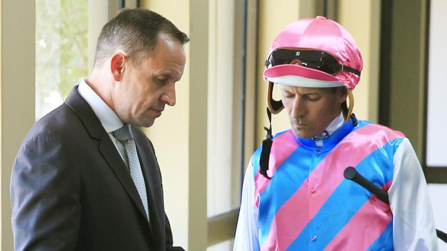Chris Waller and Hugh Bowman will combine again at Canterbury on Wednesday. Picture: Mark Evans