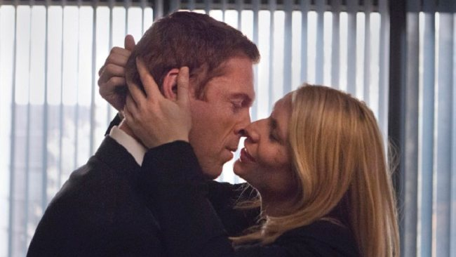 Damian Lewis as Nicholas Brody and Claire Danes as Carrie Mathison in Homeland. Picture: Showtime