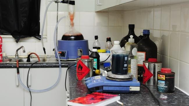These tenants are either really into science experiments or ... Picture: Jono Searle