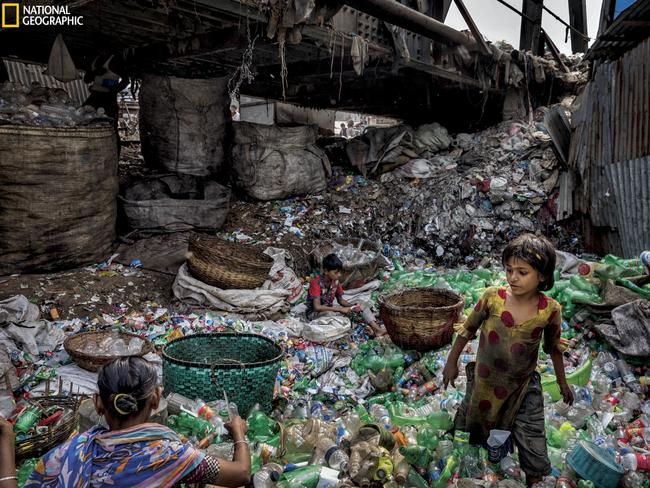 Nat Geo is running a campaign to help reduce our immense plastic waste. Picture: Randy Olson/National Geographic