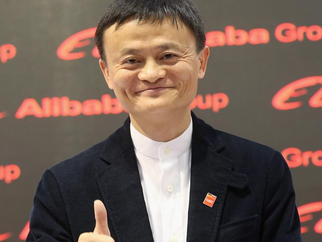 Billionaire ... Alibaba Group Executive Chairman Jack Ma. Picture: Getty